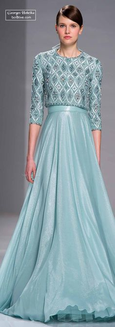 Georges Hobeika Springfield 2015 Haute Couture | I Love almost every single one.
