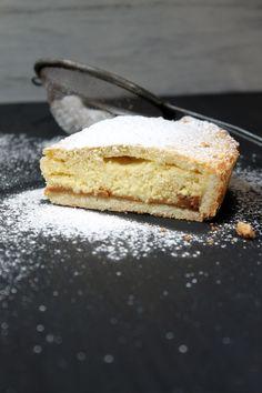 Filosofía de Sabor: Tarta de Ricota con Dulce de Leche Bread Recipes, Cooking Recipes, Sin Gluten, No Bake Cake, Deli, Vanilla Cake, Muffins, Bakery, Cheesecake