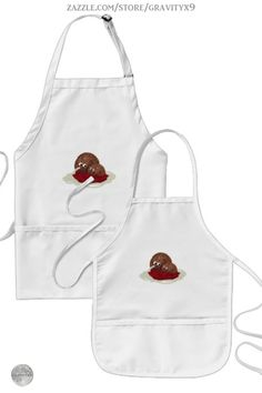 * Cute Meatball Eating Spaghetti Apron by #Gravityx9 at Zazzle * Cute meatballs, sharing a plate of spaghetti * Three colors to choose from. * Sizes for adults and children. * Adjustable neck strap for good fit. * Fun in the Kitchen * cooking accessories * kitchen accessories * cooking supplies * kitchen supplies * cooking class supplies * sous chef uniform * gift for chef * kitchen gifts * cooking class * #apronaddiction #apron #kitchen #cooking #inthekitchen #meatballs spaghetti 0820