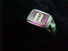 Antique Fraternal Order of Odd Fellows Vintage Men's 14K Gold Ring with Logo | eBay 14k Gold Ring, Gold Rings, Odd Fellows, Verde Island, Red Glass, Vintage Men, Antique, Logo, Ebay