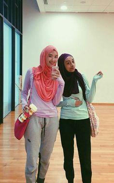 Baju Senam Hijab