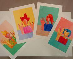 Powerful Women, Creative Art, Etsy Store, Original Art, Creatures, Bright, Wall Art, Logos, Shop