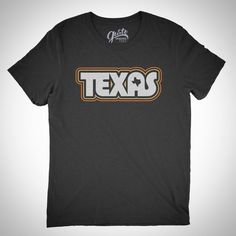 Loving our retro TEXAS t-shirt design by Gusto Graphic Tees!