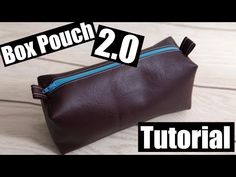 The perfect Toiletry bag! Baby Turban, Turban Hat, Cork Fabric, Lining Fabric, Leather Box, Leather Pouch, Pouch Tutorial, Scarf Tutorial, Pouch Pattern