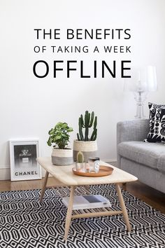 Three benefits of taking a week offline - from making space for ideas, dreams and goals, to becoming more present in everyday life. Personal And Professional Development, Digital Detox, Making Space, Benefit, Take That, Business Advice, Interior Design, Blogging, Finger
