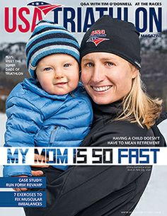 @USA Triathlon #GUCrew XTERRA #triathlete and new mom, Emma Garrard, graces the cover of the winter issue of USA Triathlon Magazine as part of a feature package about triathlon #mom.