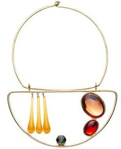 Club Monaco Alexander Calder Jewelry Collection on Cool Hunting.  Most of the collection feels a little generic, but to piece is a stunning tribute.