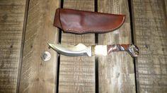 1095 steel @ 59 Rockwell Hardness an Kurinite handles