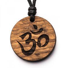 Om - 3in1_diy_schmuck Holzschmuck aus Naturholz / Anhänger Unalome, Cnc, Washer Necklace, Jewelry, Carving, Stuff Stuff, Diy Jewelry Necklace, Handmade, Repurpose