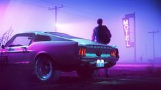 Ford Mustang Scorpion Edition Wallpaper, HD Cars Wallpapers, Images, Photos and Background Ford Mustang Gt, 1967 Mustang, Mustang Fastback, Ford Mustang Wallpaper, Blue Mustang, Cyberpunk Aesthetic, Cyberpunk Art, Purple Aesthetic, Retro Aesthetic