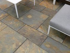 Truslate Garden Paving Copper