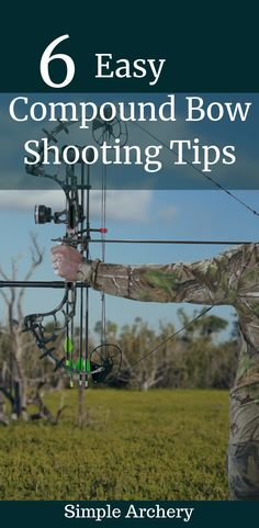 Here are 6 easy things you can work on to improve your accuracy with a compound bow. Here are 6 easy things you can work on to improve your accuracy with a compound bow. Archery Range, Archery Tips, Archery Hunting, Archery Targets, Quail Hunting, Deer Hunting, Turkey Hunting, Archery For Beginners, Bow Hunting Tips
