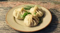 """Recipe to make """"Khinkali"""": Georgian soup dumpling that can be made from beef, lamb, pork , veal or a mix of pork and beef. Other Meat Recipes, My Recipes, Dough Cutter, Dumplings For Soup, Georgian, Sour Cream, Lamb, Food To Make, Nom Nom"""
