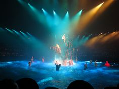 See a show!  La Reve-The Dream at the Wynn Hotel & Casino on the Las Vegas Strip is fantastic!  Plus, they allowed us to take photos during the show as long as we didn't use a flash.  I don't know if they still allow that, but regardless, this show is worth every penny!