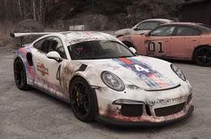 Worn-Out Martini Livery Porsche 911 GT3 RS