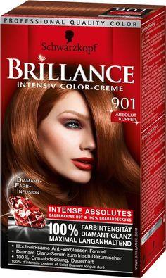 coloration schwarzkopf brillance intense n 901 absolute cuivre neuf - Coloration Rouge Schwarzkopf