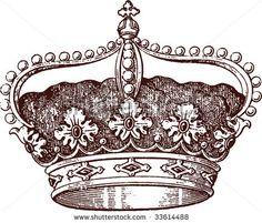 stock-vector-queen-crown-33614488.jpg 450×385 pixels