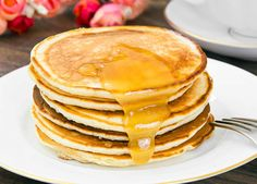 Buy Tasty Pancakes Stack with Honey by ArtCookStudio on PhotoDune. Tasty Pancakes Stack with Honey Studio Photo Easy Meal Prep, Easy Meals, Pancake Stack, Tasty Pancakes, Ale, Deserts, Goodies, Food And Drink, Yummy Food