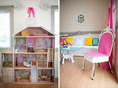 barbie dollhouse printables | Read on for the gorgeous photos and the full party writeup. Incredible ...