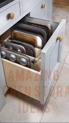 Kitchen organisation ideas| Kitchen storage cabinets | kitchen ideas for small spaces