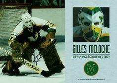 Gilles Meloche, Minnesota North Stars #вратарь #хоккей #НХЛ #nhl #goalie #goaltender #minnesotanorthstars