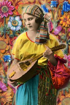 Sunday Postcard Art: Bohemian/Gypsy