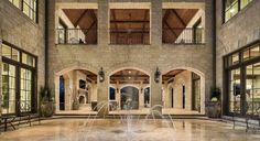 Texas Home or Roman Atrium?
