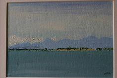 Wicklow Mountains Original Irish PaintingOil on Canvas Oil Paintings, Original Paintings, Irish Art, Canvas Board, Dublin, Oil On Canvas, Ireland, Sea, Mountains