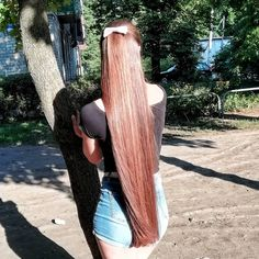 Shop Rabake Hair Brazilian Straight Human Hair 3 Bundles With Closure Brazilian Virgin Hair Straight With Closure Long Red Hair, Very Long Hair, Big Hair, Silky Smooth Hair, Rapunzel Hair, Beautiful Long Hair, Straight Hairstyles, Hair Beauty, Long Hair Styles