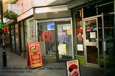 Choci's Chewns, St Annes Court, London. Never bought anything from here, but popped in for a browse a fair amount.