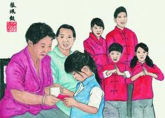 #ChineseNewYear #ChineseArt #Painting Chinese New Year, Chinese Art, Chinese Painting, Chinese New Years