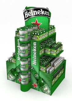 Heineken Beer POP