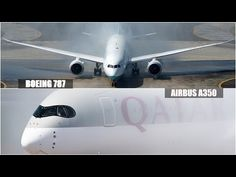 Airbus A350 vs Boeing B787 | WHAT'S THE DIFFERENCE? | - YouTube