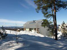 Single family house Engan in Oslo. Architect: Knut Hjeltnes Arkitekter.