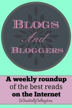 There's so much great content on the Internet.  Here are the best blog posts I've read this week.  I hope you enjoy reading them as much as I did.