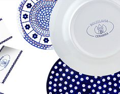 """Check out new work on my @Behance portfolio: """"Boleslavia Polish Pottery"""" http://on.be.net/1jl6BDC // graphic design logo packaging  business card corporate identity stamps //"""