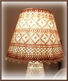 3 Fortunate Simple Ideas: Old Lamp Shades House small lamp shades nurseries. Crochet Lampshade, Lampshade Redo, Wooden Lampshade, Lampshades, Bedside Lamps Shades, Old Lamp Shades, Small Lamp Shades, Pink Lamp Shade, Art Deco Lamps