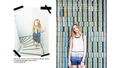 2015 Spring/Summer #rue58 #dots #stripes #fashion #chic #design #style #lovely #RUE58 #fashion #fashiondesigners   #RTW #Womenswear #womensfashion #lookbook