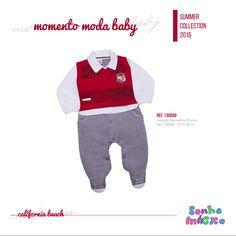 Moda Bebê | Moda Baby | Macacão | Look Para Menino | Recém Nascido