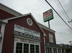 Mrs. Rowe's Family Restaurant and Bakery - Staunton, VA