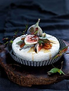 Cheese with figs