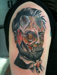 zombie lincoln tattoo