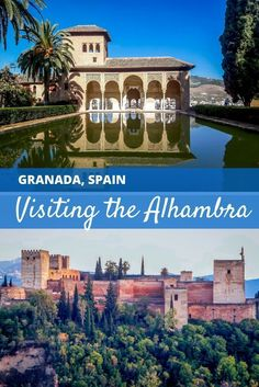 The Alhambra in Granada, Spain, is a Moorish fortress-turned-palace, a UNESCO World Heritage Site, and one of the most important locations in all of Spain