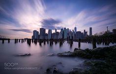 Skyline of New York City by roliketto. @go4fotos