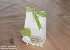 Give Away Hochzeit Stampin Up Verpackung Box Schachtel Goodie 007