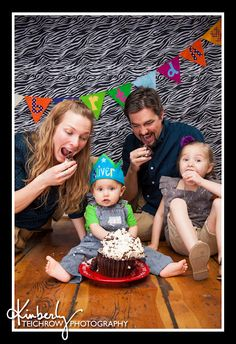 My personal favorite from this Cake Smash Session...