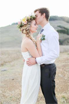 Winter Bohemian Wedding Ideas | Natalie Schutt Photography on @thesocalbride