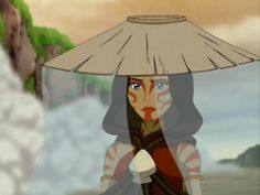 Avatar: The Last Airbender - Painted Lady, I love how much faith she had in Aang's ability when she fought the firebenders