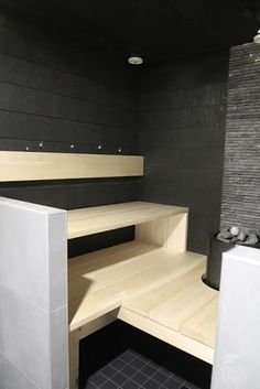 Cozy Sauna Shower Combo Decorating Ideas – Home inspiring – – Ley Straker – japanesetubs Spa Rooms, House Rooms, Building A Sauna, Massage Room Decor, Sauna Shower, Portable Sauna, Japanese Bathroom, Sauna Design, Finnish Sauna