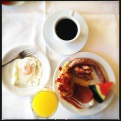 A Typical Spanish Breakfast